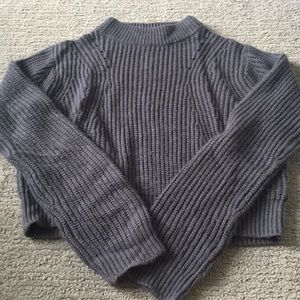 Turtle neck Kendall and Kylie cropped sweater